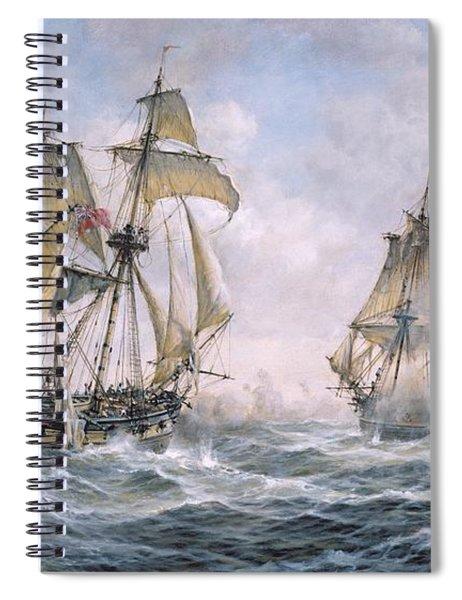 Action Between U.s. Sloop-of-war 'wasp' And H.m. Brig-of-war 'frolic' Spiral Notebook