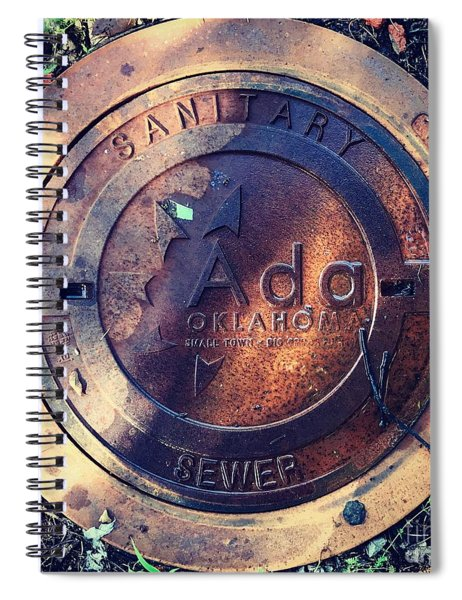 Ada Circle Spiral Notebook