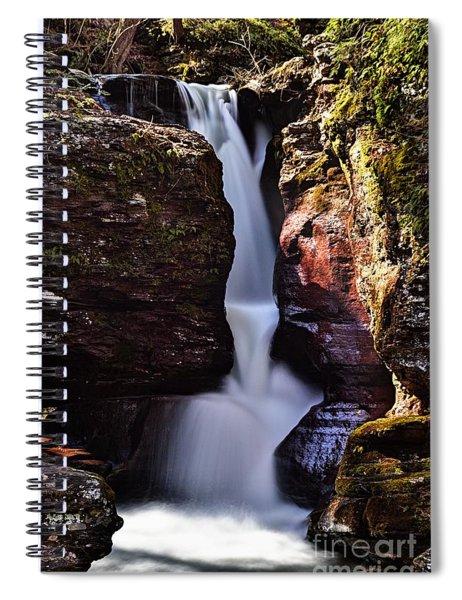 Adams Falls Spiral Notebook