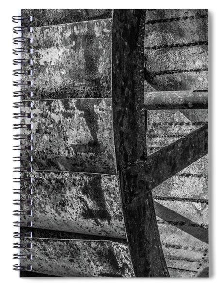 Adam's Mill Water Wheel Spiral Notebook