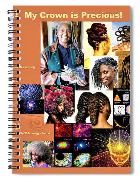 Adenike My Crown Is Precious Spiral Notebook