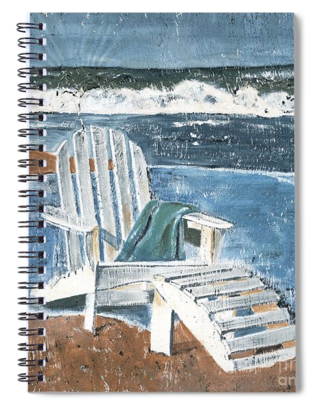 Adirondack Chair Spiral Notebook