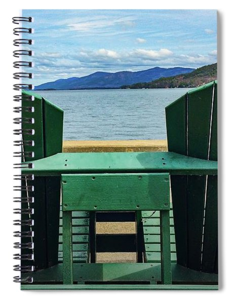 Adirondack Chair For Two Spiral Notebook