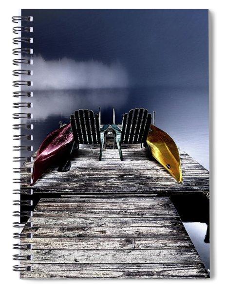 Adirondack Fog Spiral Notebook