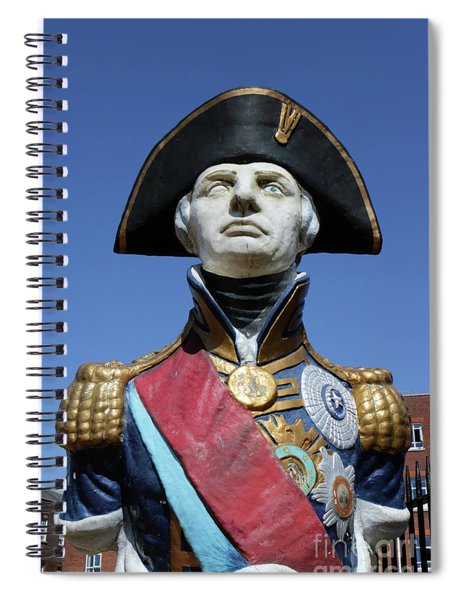 Admiral Lord Nelson Portsmouth Spiral Notebook
