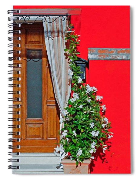 A-door-ned Spiral Notebook