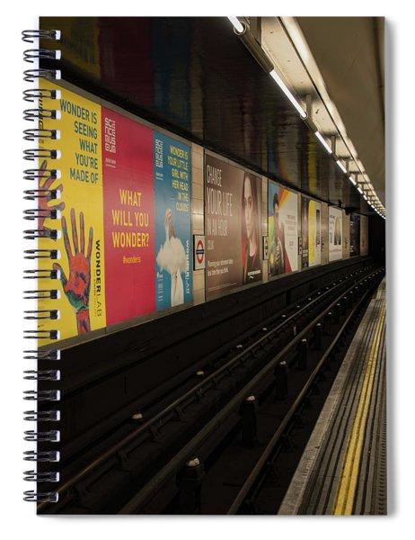 Ads Underground Spiral Notebook