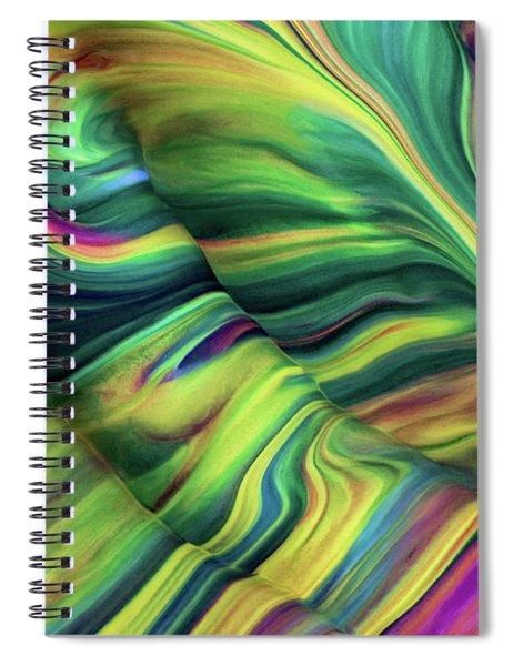 Aegean Wave Spiral Notebook