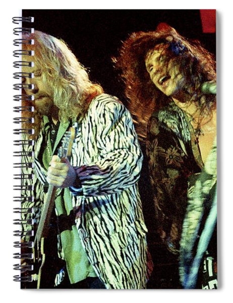 Aerosmith-94-brad-steven-1166 Spiral Notebook