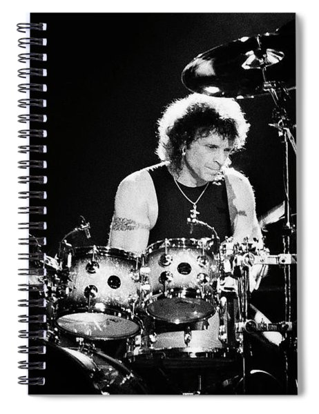 Aerosmith-94-joey-1250 Spiral Notebook