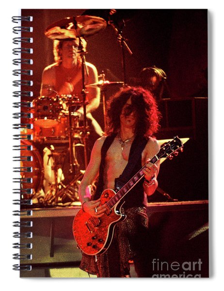 Aerosmith-94-joey-joe-1186 Spiral Notebook