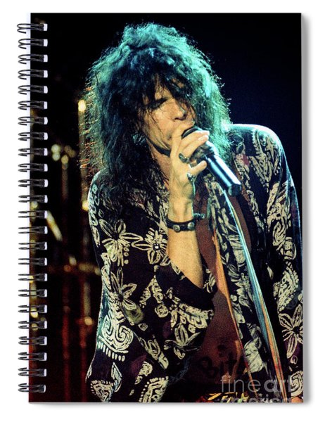 Aerosmith-94-steven-1174 Spiral Notebook