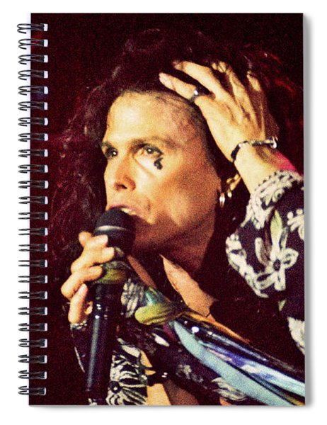 Aerosmith-94-steven-1191 Spiral Notebook