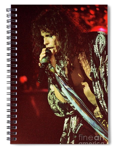 Aerosmith-94-steven-1195 Spiral Notebook