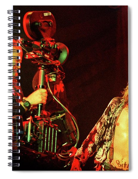 Aerosmith-94-steven-blindman-1168 Spiral Notebook