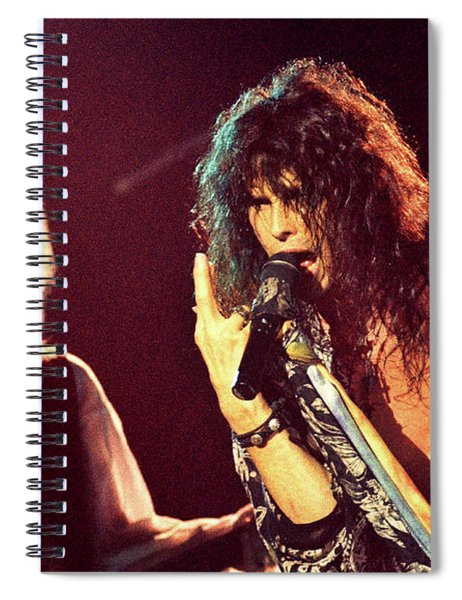 Aerosmith-94-tom-steven-1175 Spiral Notebook