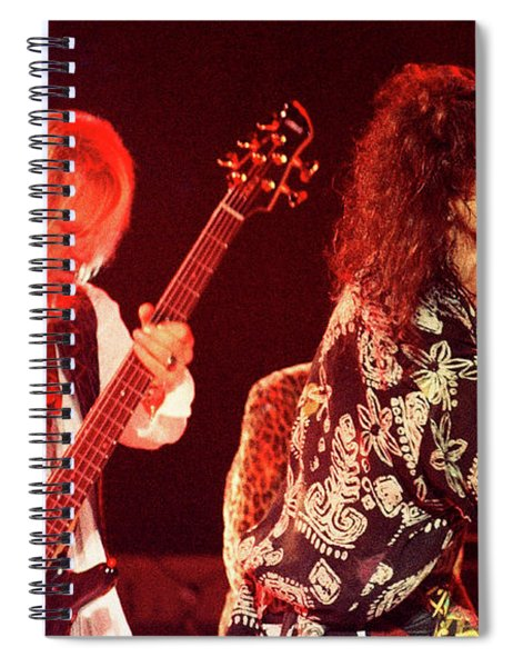 Aerosmith-94-tom-steven-1177 Spiral Notebook