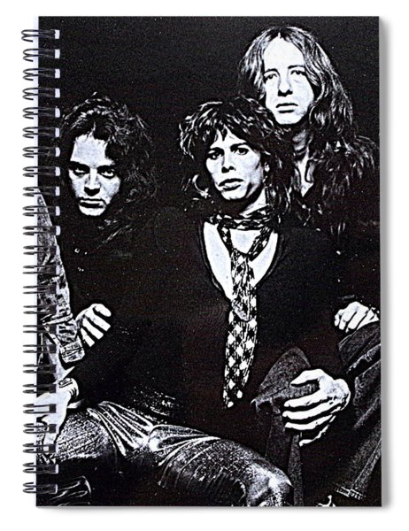 Aerosmith Press Photo Spiral Notebook