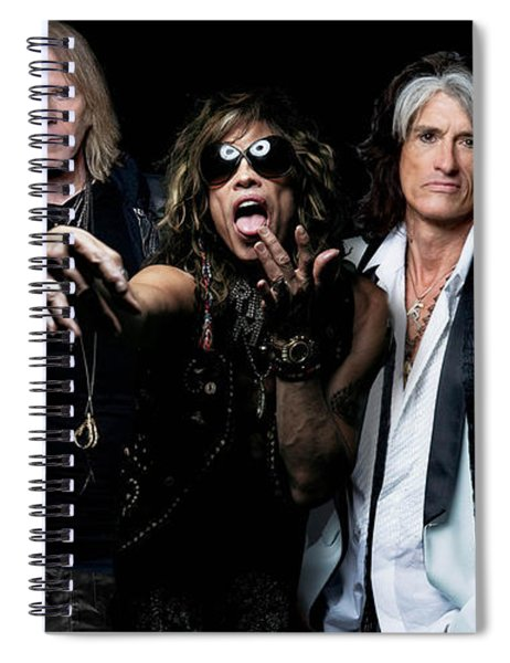 Aerosmith Spiral Notebook