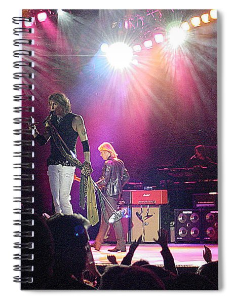 Aerosmith-steven Tyler-00082 Spiral Notebook