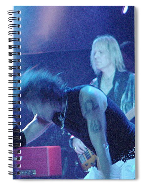 Aerosmith-steven Tyler-00104 Spiral Notebook