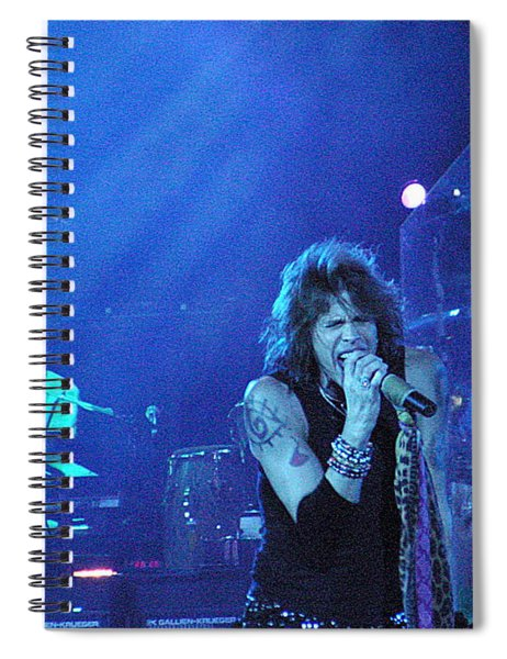 Aerosmith-steven Tyler-00107 Spiral Notebook