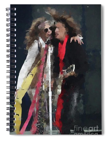 Tyler And Perry Oil Painting Enlargements Spiral Notebook