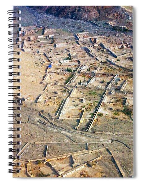 Afghan River Village Spiral Notebook
