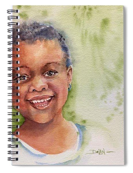 African Girl Spiral Notebook