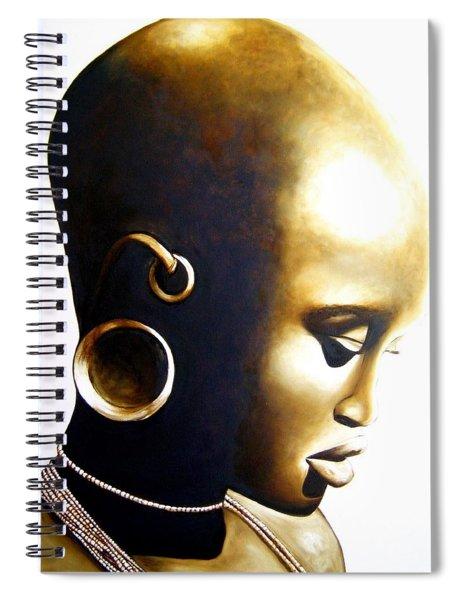 African Lady - Original Artwork Spiral Notebook