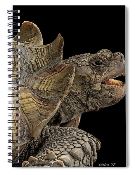 African Spurred Tortoise Spiral Notebook
