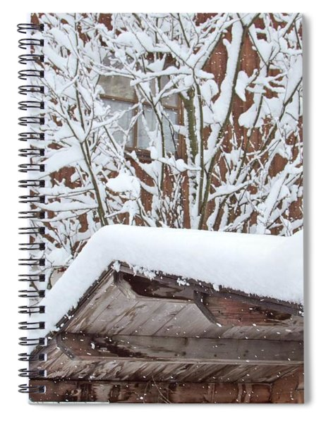 After Snowing Spiral Notebook