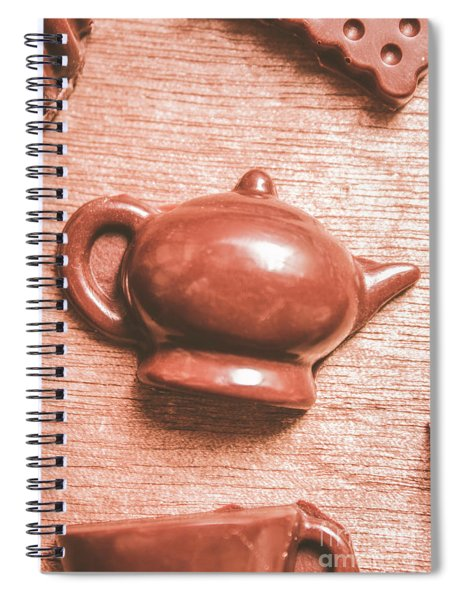 After Tea Confection Spiral Notebook