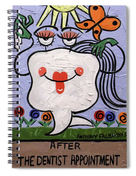 After The Dentist Appointment Spiral Notebook