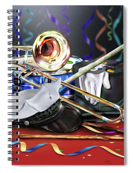 After The Music Spiral Notebook