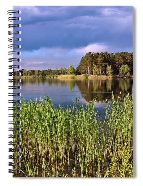 After The Rain Poetry Spiral Notebook