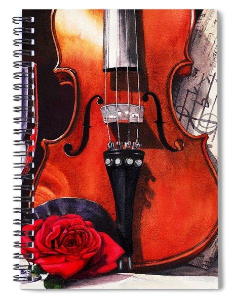 After The Serenade Spiral Notebook