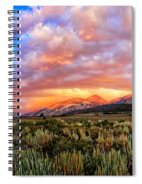 After The Storm Panorama Spiral Notebook