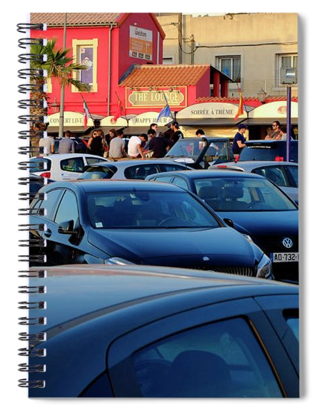 After Work Marseille Spiral Notebook