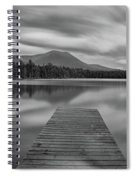 Afternoon At Daciey Pond Spiral Notebook