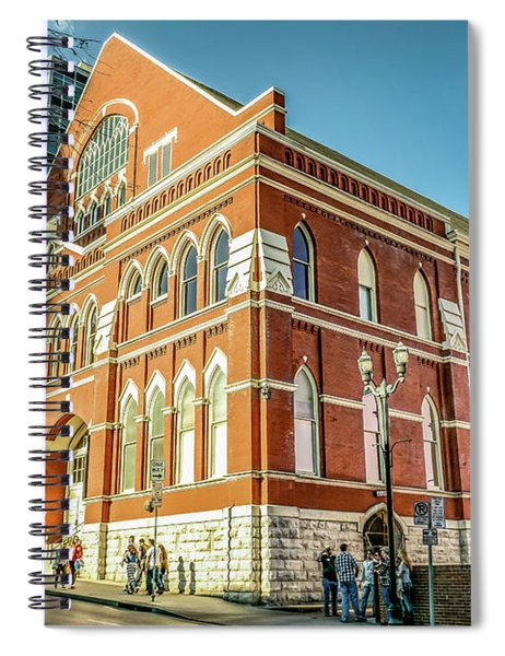 Afternoon At The Ryman Spiral Notebook
