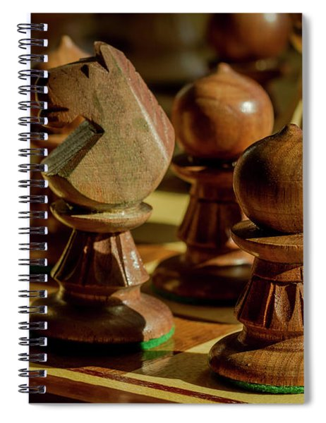 Afternoon Chess Game Spiral Notebook