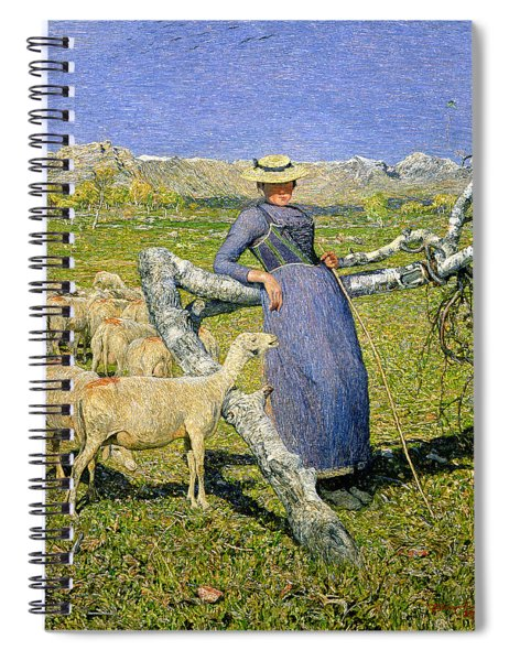 Afternoon In The Alps Spiral Notebook