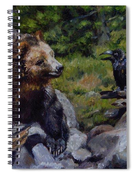 Afternoon Neigh-bear Spiral Notebook