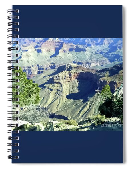 Afternoon View Grand Canyon Spiral Notebook