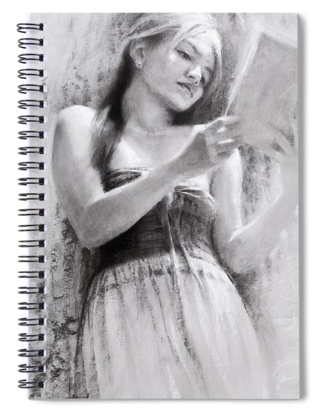 Afternoon With A Book Spiral Notebook