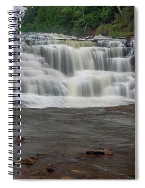 Agate Falls Spiral Notebook