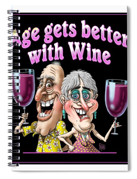 Age Gets Better Couple Spiral Notebook