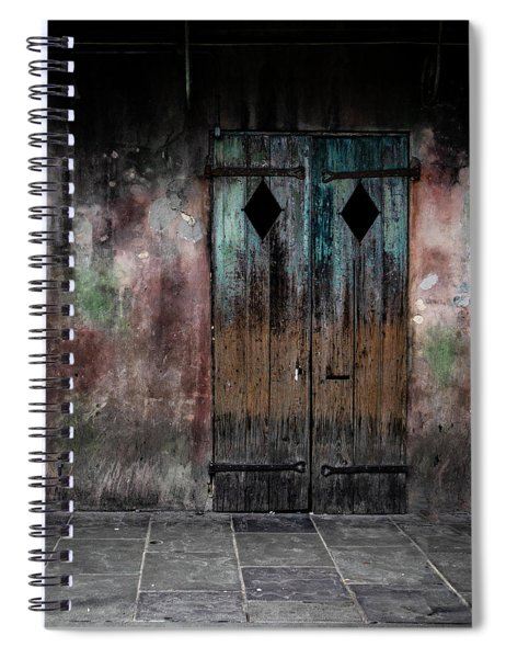 Aged And Erie Door Spiral Notebook