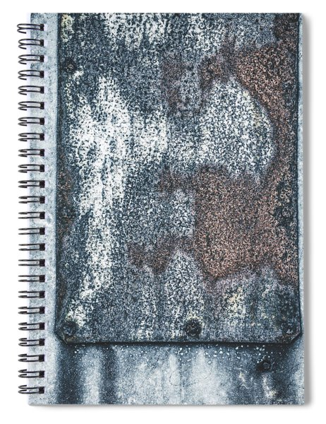 Aged Wall Study 1 Spiral Notebook